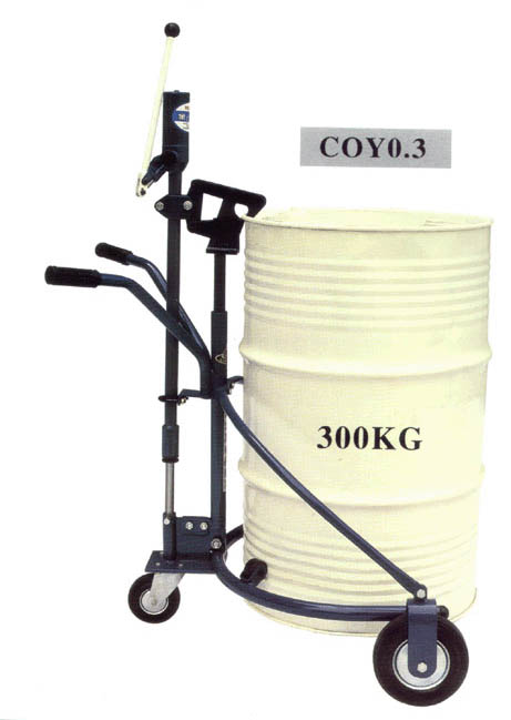 coy0.3 油桶搬运车
